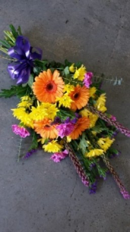 Colourful tied sheaf 3
