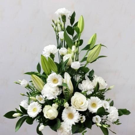 Serene floral arrangement