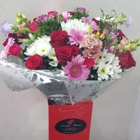 Special valentine aqua