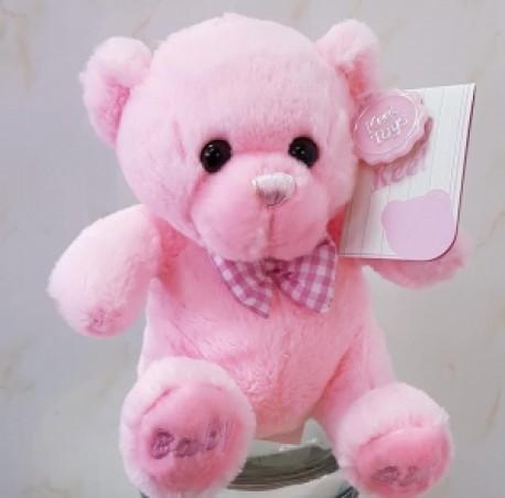 pink add on bear