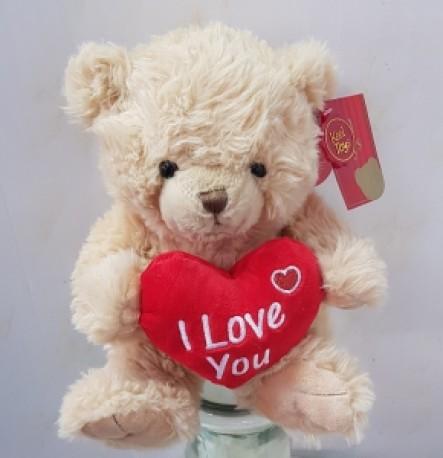 beige bear with heart....add on