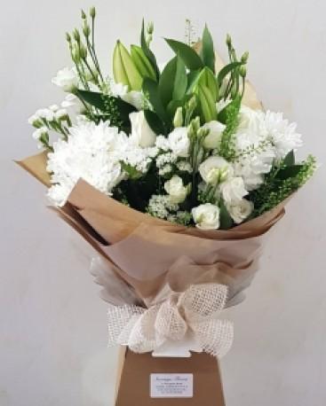 The Natalie Aqua Bouquet