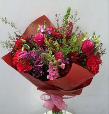 Darker coloured bouquet