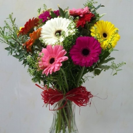 Gerbera love, vase