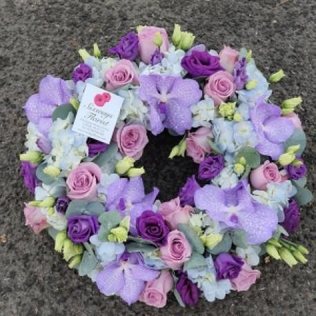 vanda wreath