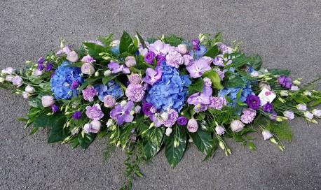 lilac and blue casket sp