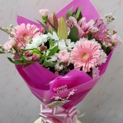 Feminine coloured bouquet