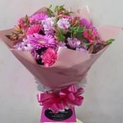 Deep pink aqua