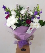 The Violet Aqua Bouquet