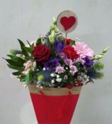 sweetheart, bag arrangement