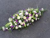 purple&white casket sp